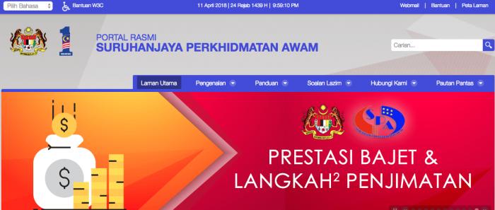 laman web rasmi spa