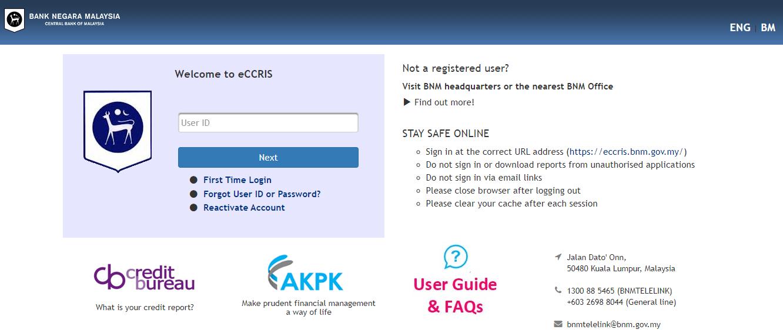 Cara Dapatkan Laporan Ccris Tanpa Perlu Ke Bank Negara Buat Secara Online Percuma Sahaja