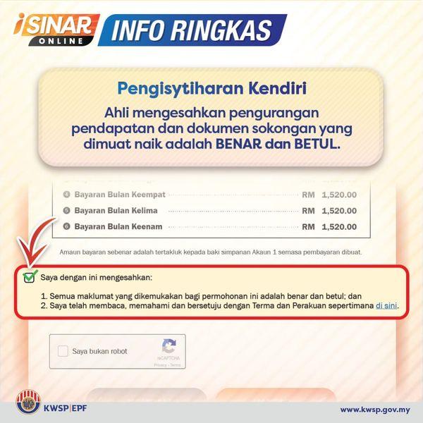 iSinar: Bayaran Interim RM1,000 Pemohon Kategori 2 Bermula 26 Januari